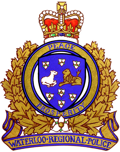 Waterloo Regional Police Service Waterloo, Ontario Grant of a Badge
