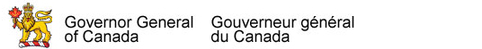 Governor General of Canada / Gouverneur g�n�ral du Canada